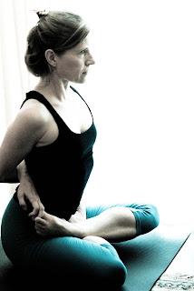 My Yoga Blog: Supta vajrasana