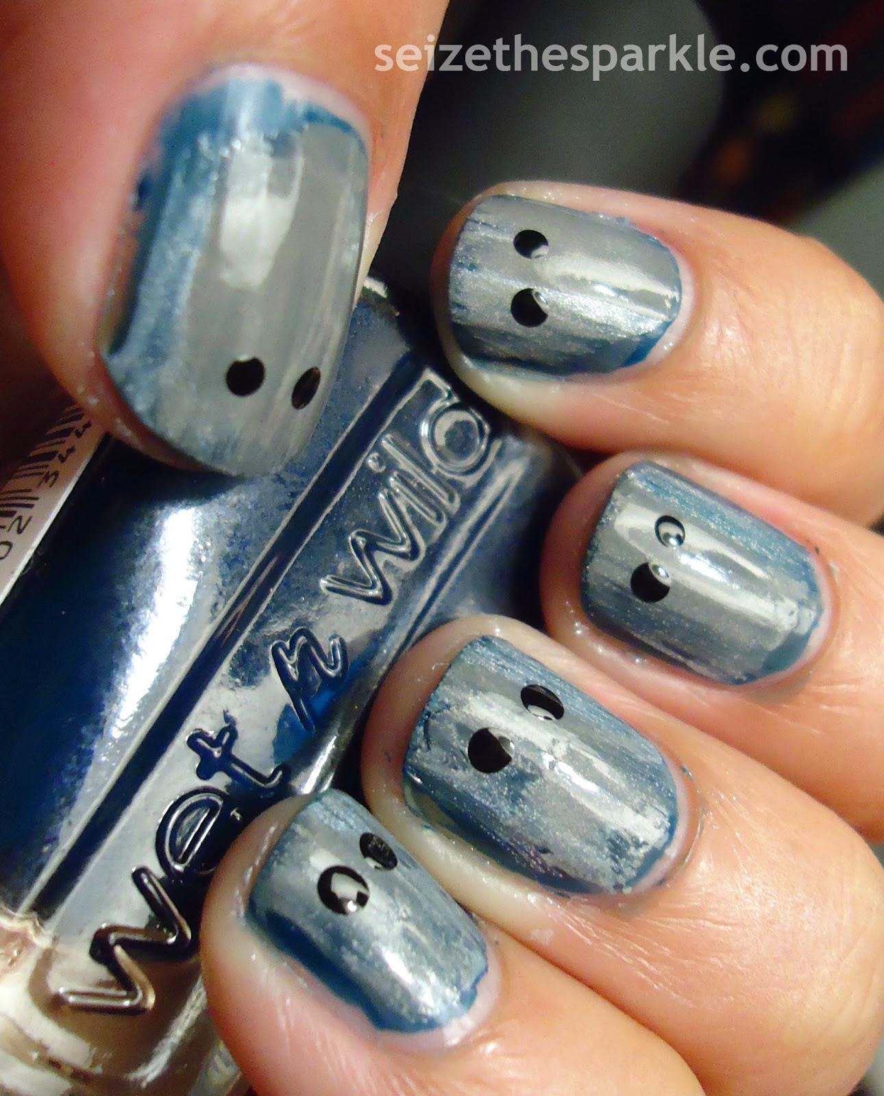 Ghost Cybermen Manicure