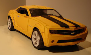 Car Bumblebee Camaro Papercraft - Transformers