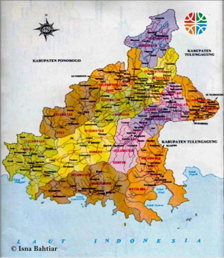 Blog Magzrover Pembaca Mangrovemagz Inilah Konsep Peta Lokasi Kabupaten Trenggalek