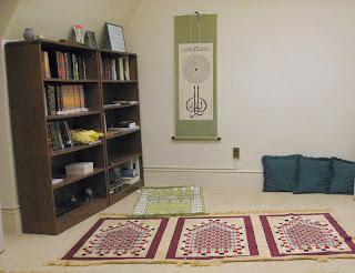 Dekorasi untuk ruang Ibadah sholat