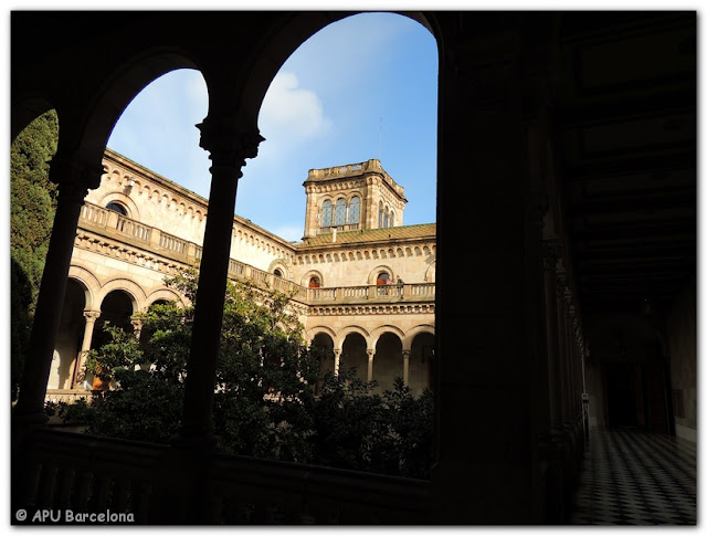VeoDigital APU Barcelona: Edifici Històric. Universitat de Barcelona muestra de Arte, Fundació Sorigué