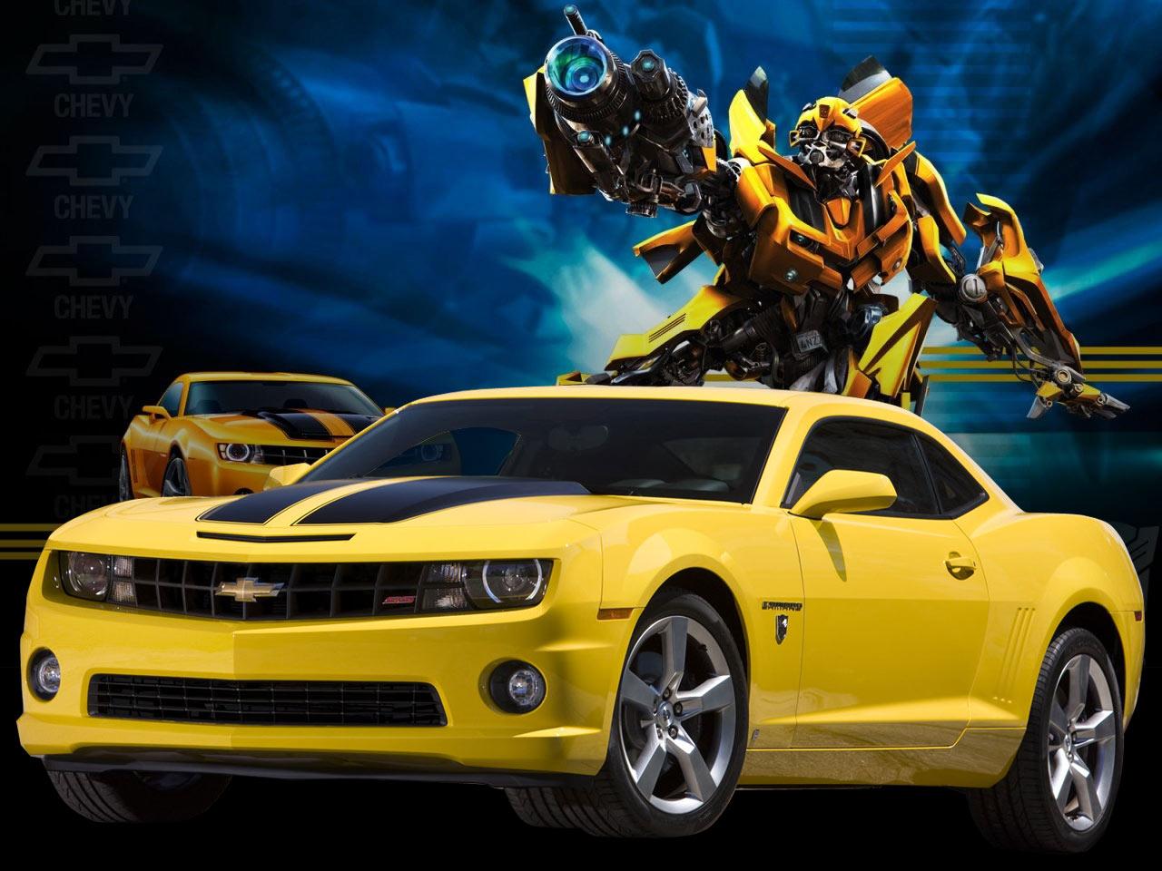 Chevy Camaro: Chevrolet Camaro Transformers Bumblebee Edition