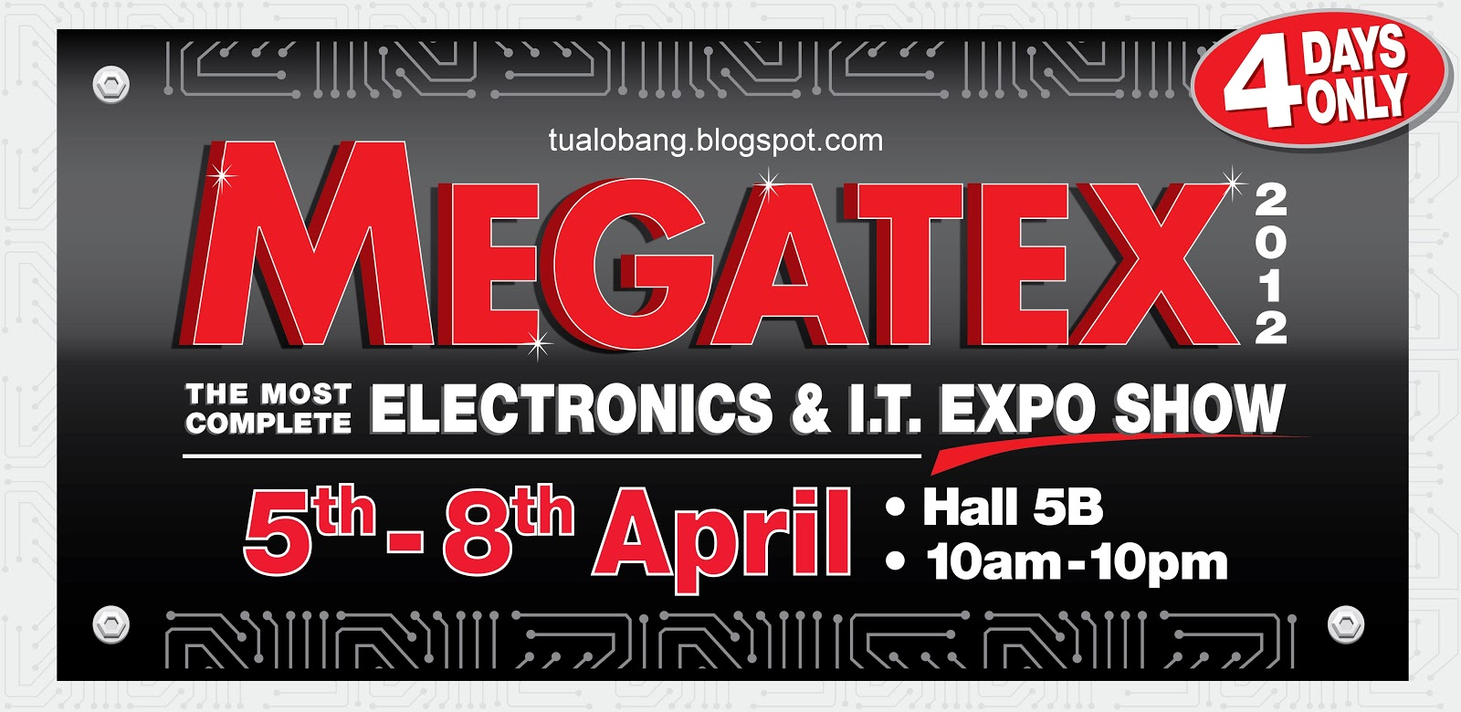 Tua Lobang Megatex 2012 The Most Complete Electronics