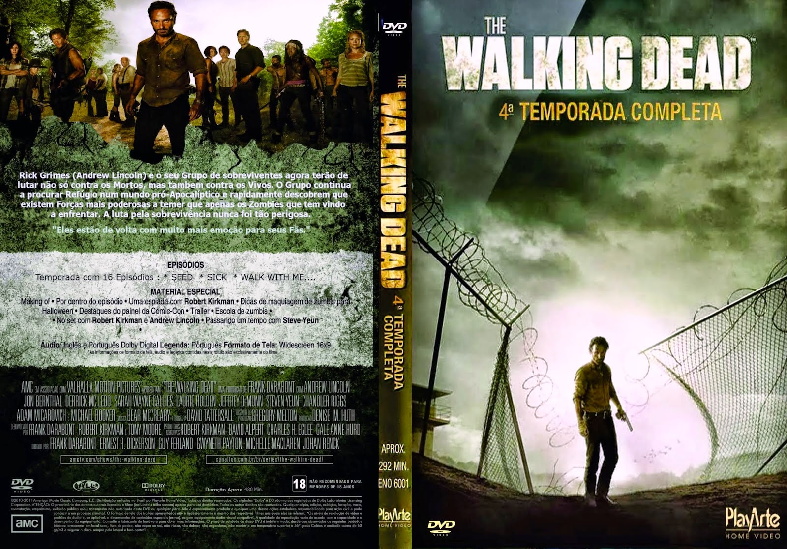 The Walking Dead 4ª Temporada | Gigante das Capas