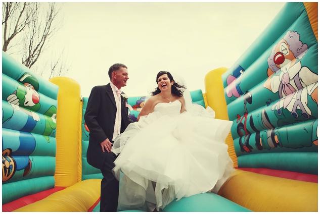 Bouncy castle London Wedding