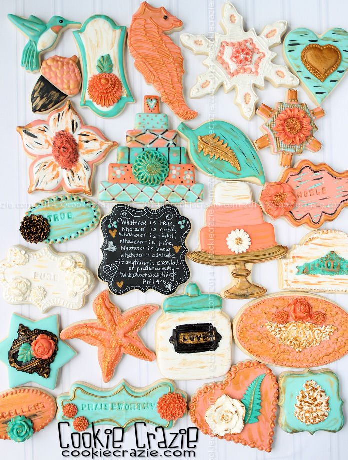 http://www.cookiecrazie.com/2014/11/melon-turquoise-shabby-chic-cookie.html