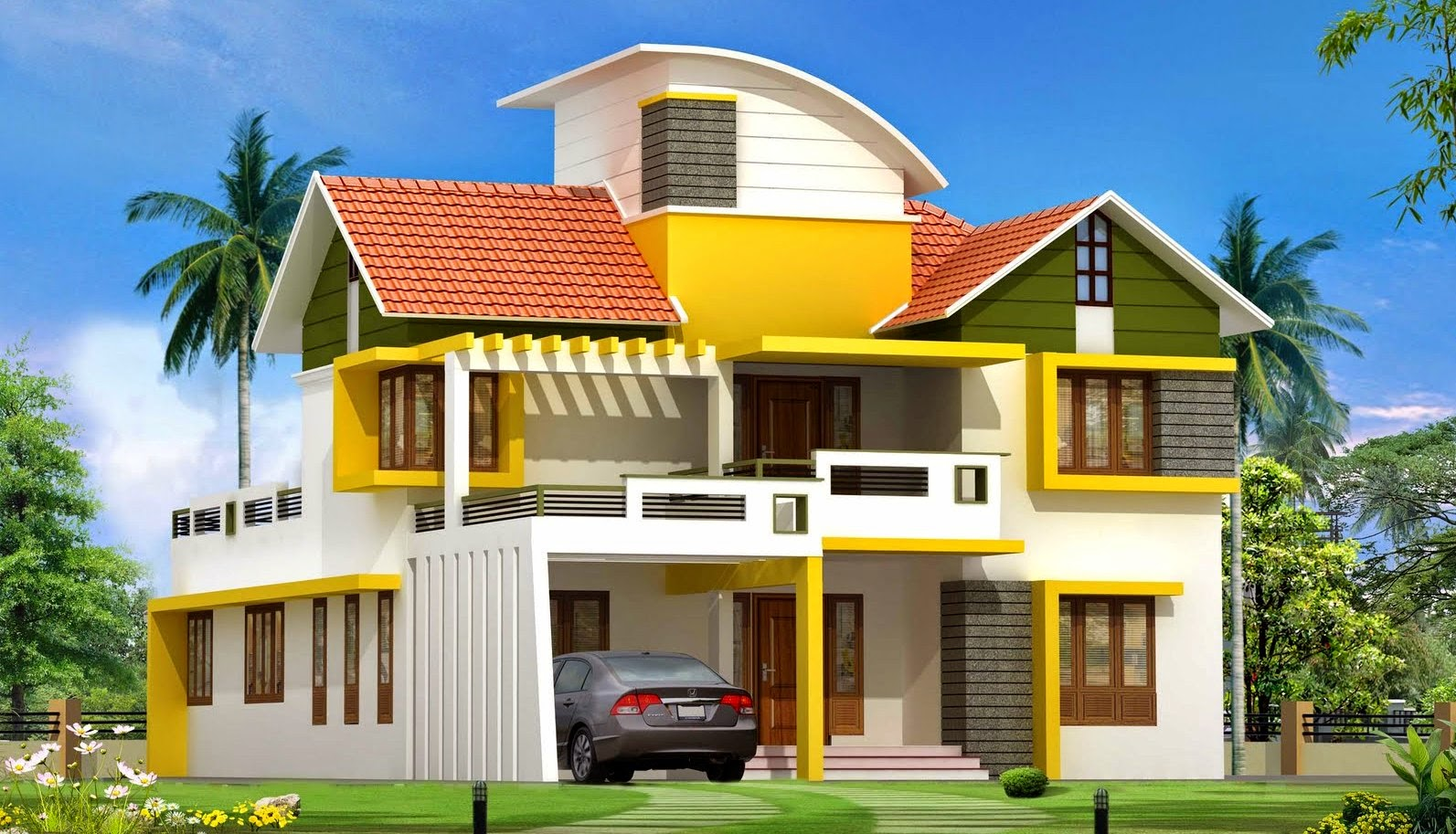 Kerala Home Design New Modern Houses