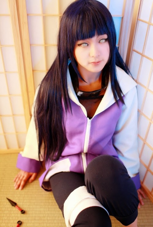 Cosplay Hinata Hyuga Paling kawaii