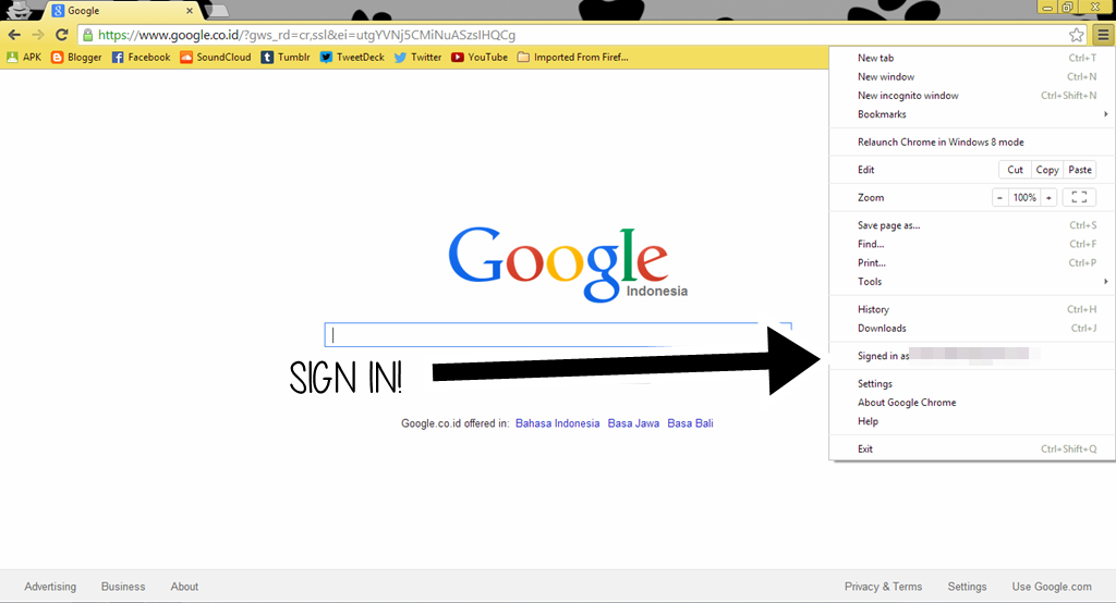 Sign In Google Chrome