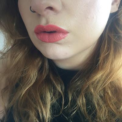 MAC Tumble Dry Lipstick Swatch