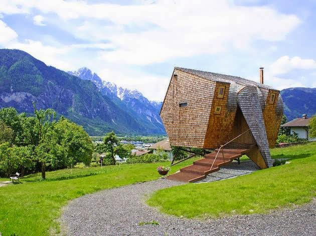TOP 7 UNIQUE HOUSE DESIGN: AUSTRIAN ODDITY IS A FULLY-FURNISHED AND FUNCTIONAL HOUSE DESIGN WITH THE FUTURISM OF A CONTEMPORARY DESIGN
