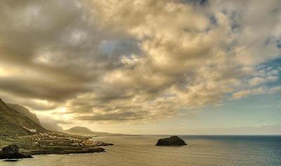Vista panorámica de la Isla Baja, Tenerife