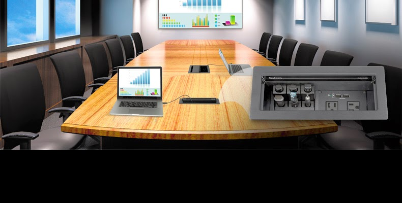 Extron Cable Cubby Series The Next Generation The - Conference table cubby