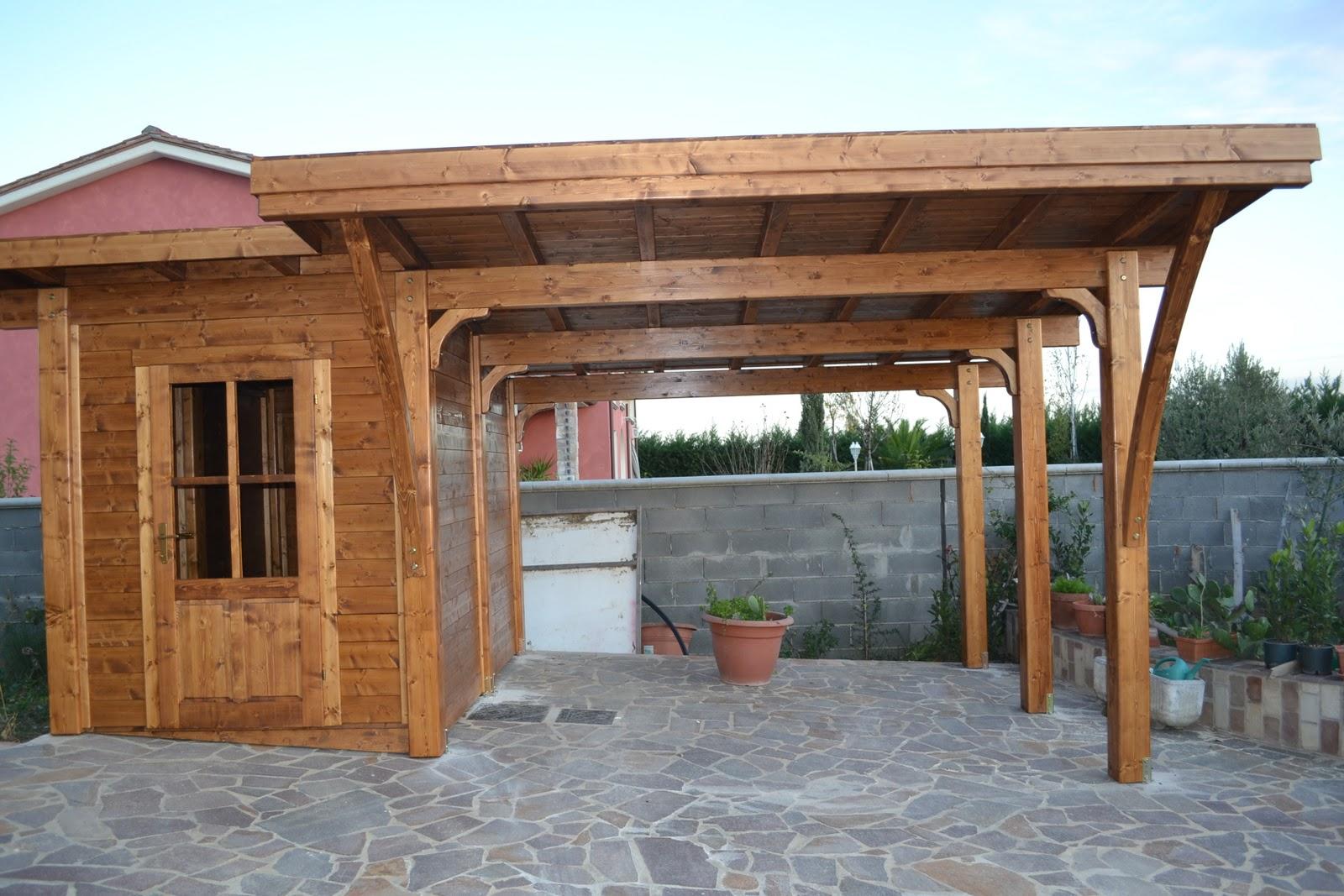 montagnani paolo s r l strutture in legno posto auto con ForPosto Auto Coperto Con Officina Annessa