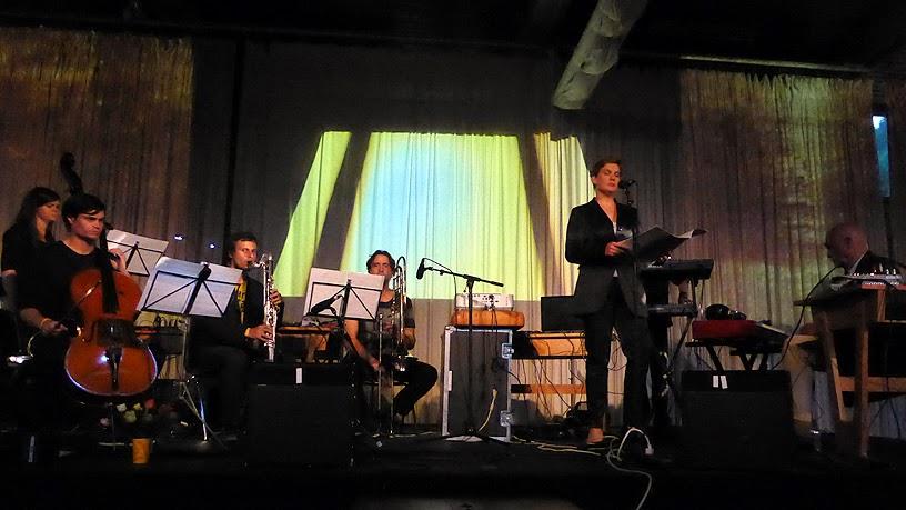 Le MOL Orchester dirigé par Christopher Chaplin @ More Ohr Less Festival 2014 / photo S. Mazars