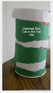 Cat in the Hat, Book activities, projects for preschoolers, image, seuss
