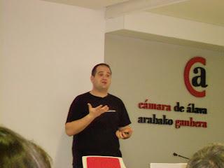 Sergio Falcón [Instar] - Jornada Google Academies en la Cámara de Álava