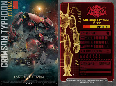 pacific rim crimson typhoon art  Fuente: Facebook - Pacific Rim
