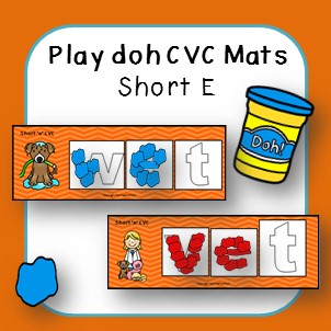 https://www.teacherspayteachers.com/Product/Play-Doh-Playdough-CVC-Mats-Short-E-2196705