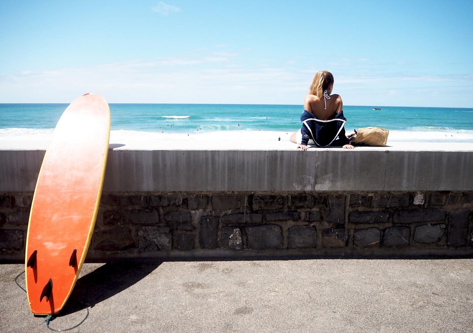 BIarritz surf la côte des basques