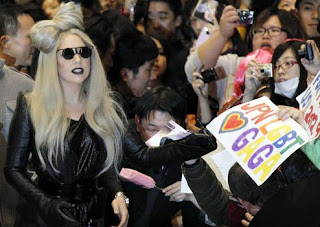 Lady Gaga in Japan promo