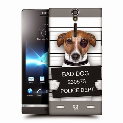 HEAD CASE FUNNY ANIMALS PROTECTIVE HARD BACK CASE COVER FOR SONY XPERIA S LT26i