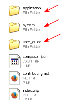 how-to-setup-codeigniter-folder-structure