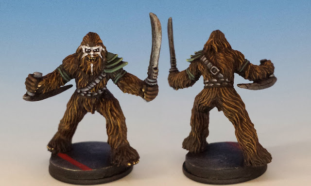 Wookie Warriors, FFG (2015, sculpted by B. Maillet)