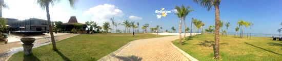 view Halaman Hotel D'season Premier Jepara