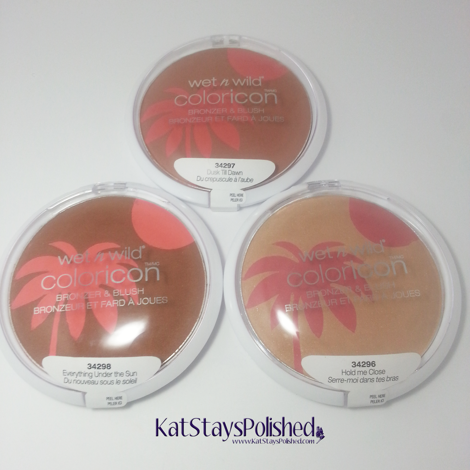 Wet n Wild ColorIcon Bronzer & Blush - Summer 2014 | Kat Stays Polished