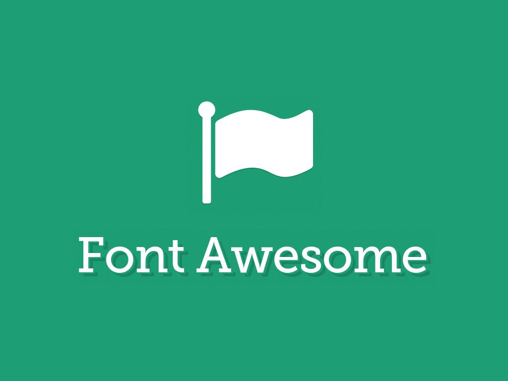 Hướng dẫn thêm Font Awesome vào blogspot