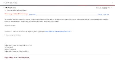 Contoh email balasan dari admin pusat dapodikdas