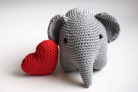 Petite Maille Le crochet cest pas ringard !: Elephant ...