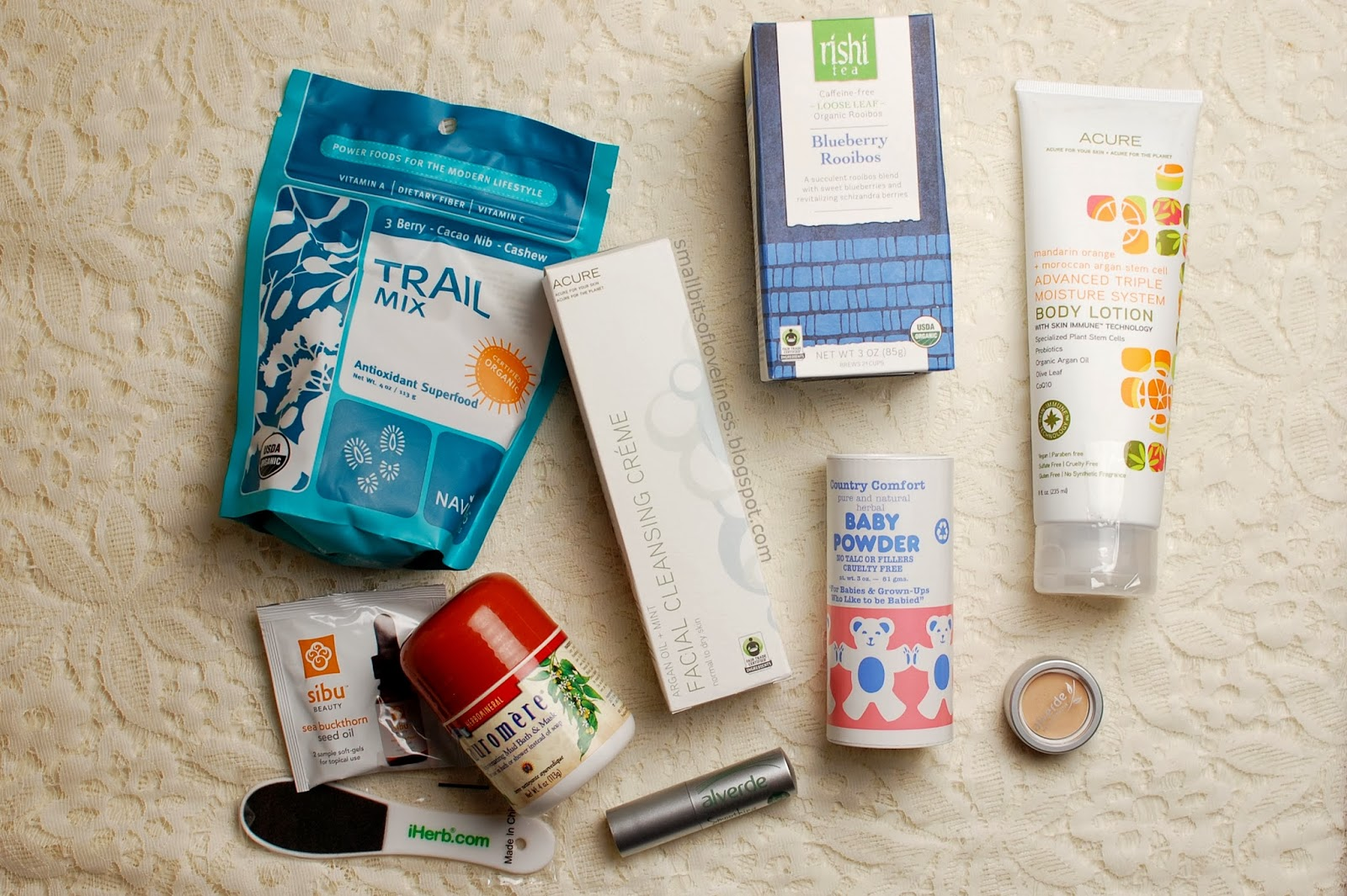 iHerb and Alverde haul