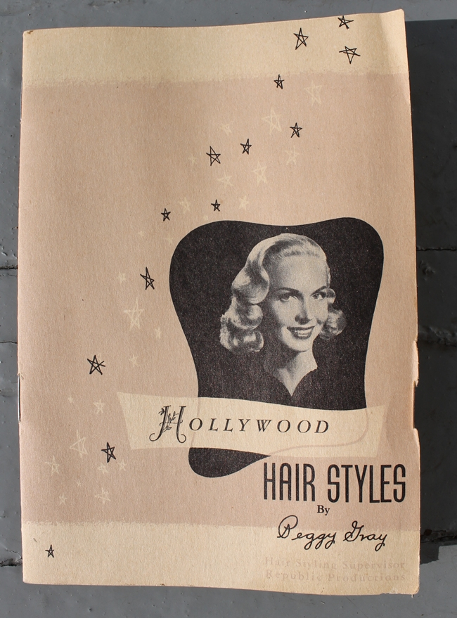 1940s how to make professional pin curls Hollywood Hairstyles by Peggy Lee via Va-Voom Vintage