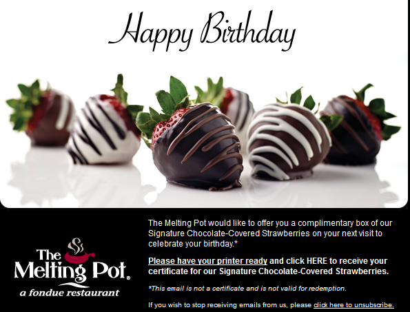 photograph relating to Melting Pot Coupons Printable identify Birthday Freebies