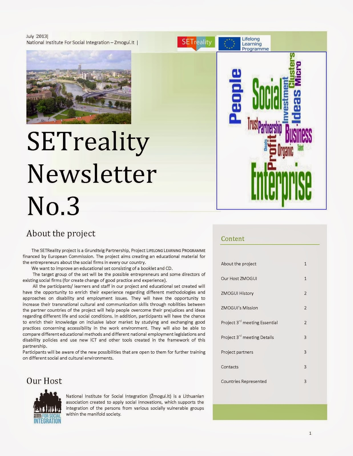 SETreality Newsletter 3