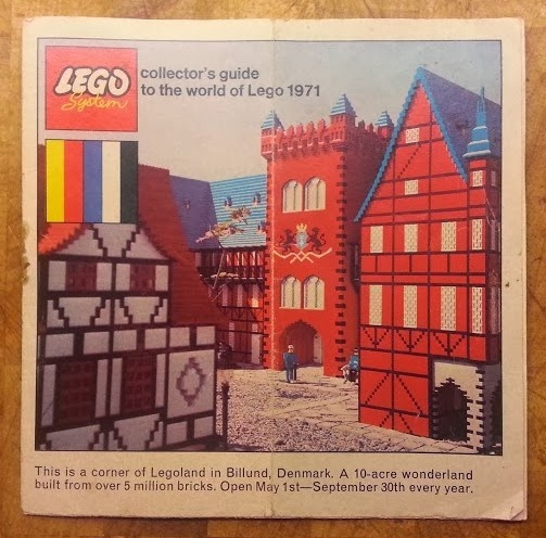 Lego System 1970's catalogue The World of Lego 1971