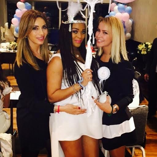 [Photos] Adaeze Yobo and Friends At Her Baby Shower
