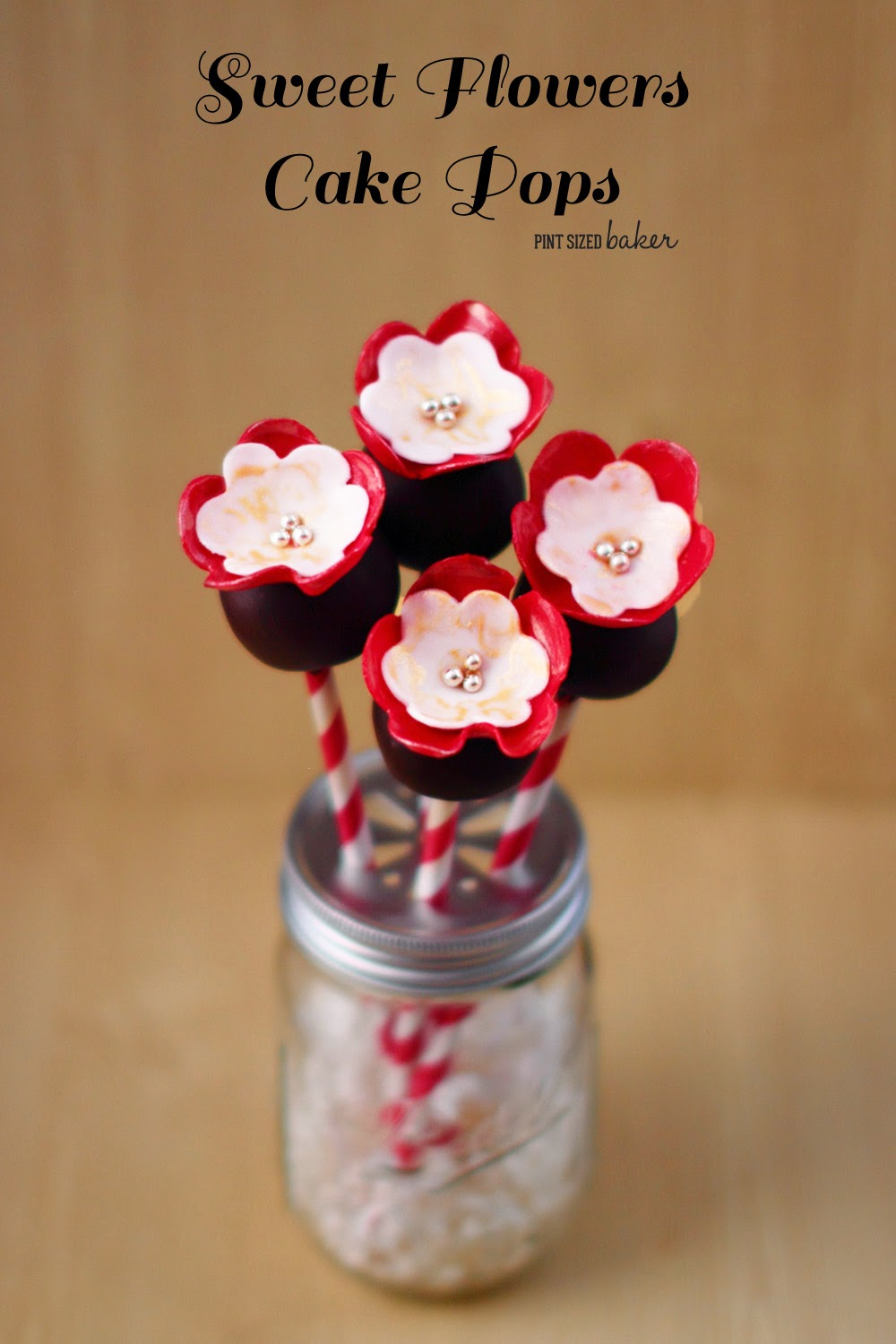 Learn how to make these Sweet Flowers to go on your Cake Pops! They are so perfect!
