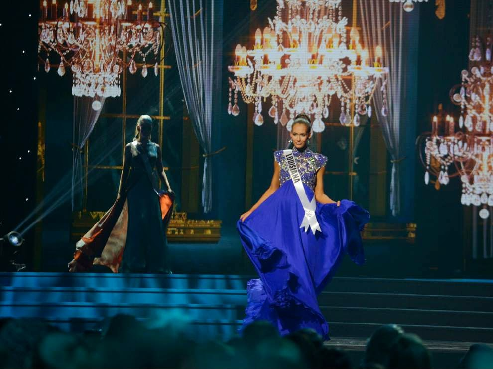SASHES AND TIARAS..MISS USA 2011 Preliminaries Gown
