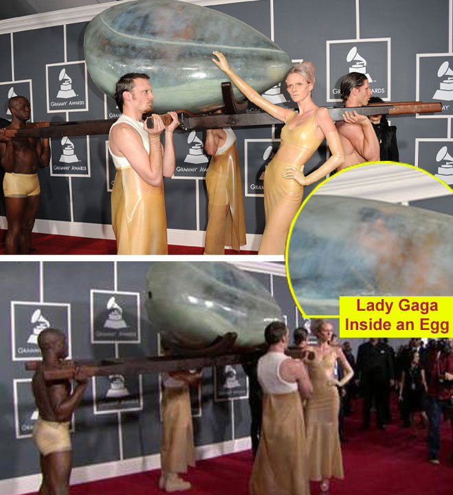 lady gaga egg dress. Lady Gaga Egg Dress Images