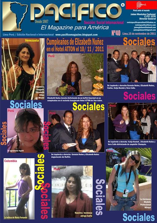 Revista Pacífico Nº 40 Social Internacional