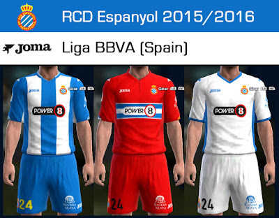 PES 2013 RCD Espanyol 2015/2016GDB update 3 by Dark Shimy