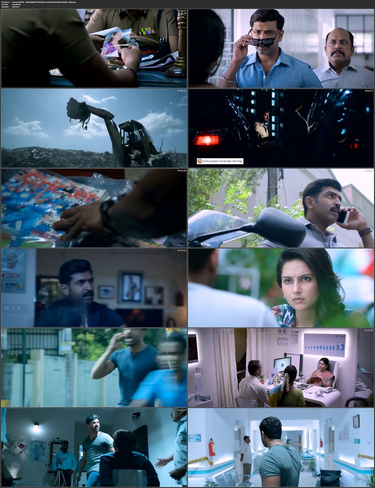 Khatarnak Policewala 2018 Dual Audio Hindi ENG HDRip 720p