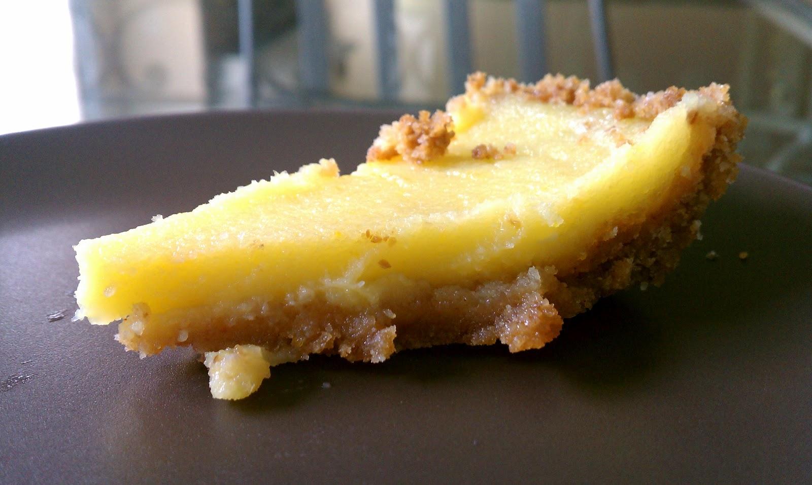 The Maternal Foodie: Meyer Lemon curd pie