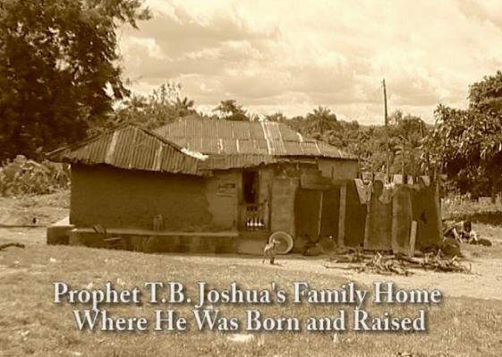 SEE The House Where TB Joshua Lived With His Parents ...