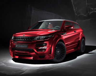hamann concept - haman tuning - range rover tuning - evoque concept cars