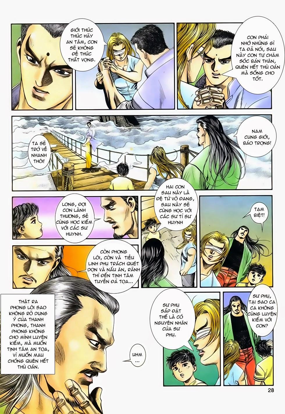 Long Hổ Phong Bạo chap 4 - Trang 27
